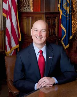 Official Photo of NE Governor Pete Ricketts